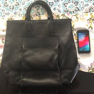 Gucci Hobo Large Tote Black Leather